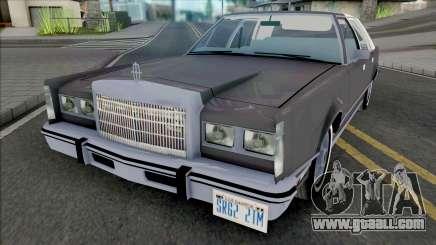 Lincoln Town Car 1986 Grey for GTA San Andreas