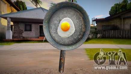 Egg In Pan for GTA San Andreas