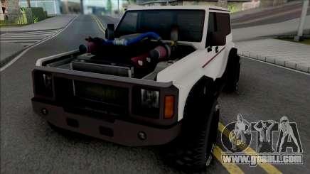 GTA V Annis Hellion [VehFuncs] for GTA San Andreas