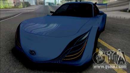 Mazda RX-7 FD3S BN-Sport Furai Face for GTA San Andreas