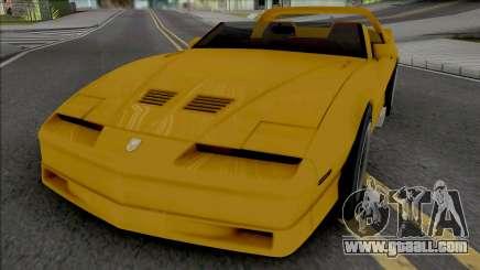Pontiac Firebird Roadster Concept for GTA San Andreas
