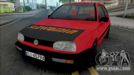 Volkswagen Golf III Slawomir for GTA San Andreas