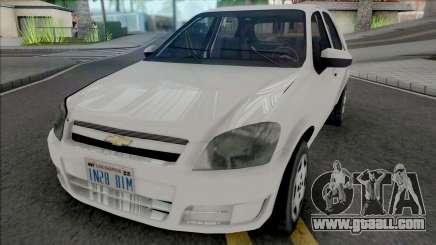 Chevrolet Celta 2010 [VehFuncs] for GTA San Andreas