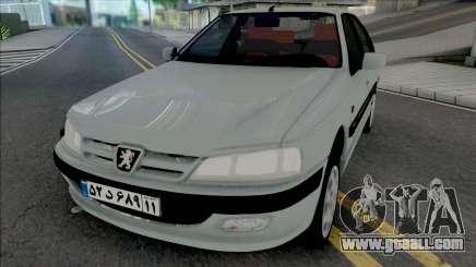 Peugeot Pars [ADB IVF VehFuncs] for GTA San Andreas