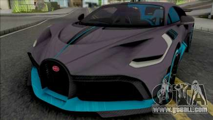 Bugatti Divo 2019 [HQ] for GTA San Andreas