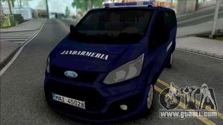 Ford Transit Lite Jandarmeria Romana for GTA San Andreas