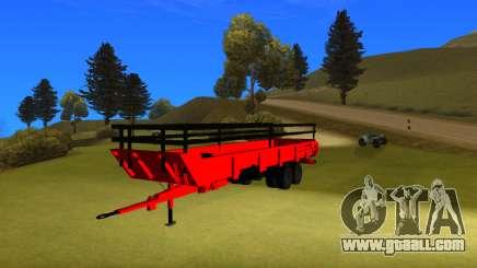 Punjabi farm trailer V2 by harinder mods for GTA San Andreas