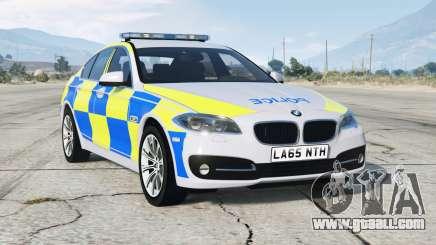 BMW 530d (F10) 2013〡British Police for GTA 5