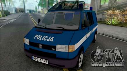 Volkswagen Transporter (T4) Policja KSP for GTA San Andreas