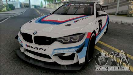 BMW M4 GT4 for GTA San Andreas