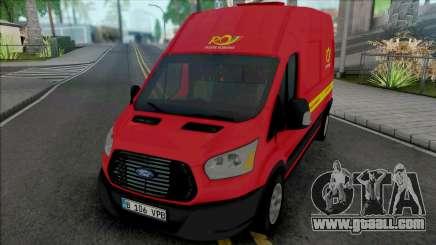 Ford Transit 2018 Posta Romana for GTA San Andreas
