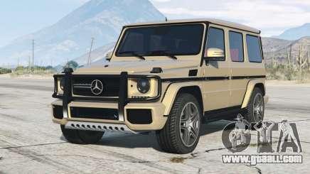 Mercedes-Benz G 65 AMG (W463) 2012〡add-on for GTA 5