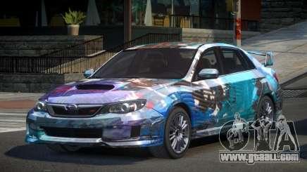 Subaru Impreza GST-R S5 for GTA 4