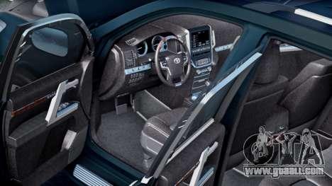 Toyota Land Cruiser 200 HQ for GTA San Andreas