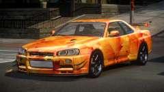 Nissan Skyline R34 PS-I S2 for GTA 4