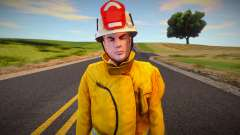 Fire brigade worker for GTA San Andreas