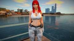 Leona 4 - White 1 for GTA San Andreas
