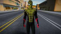 Black And Gold Suit Spiderman: No Way Home for GTA San Andreas