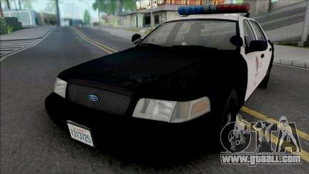 Ford Crown Victoria 2000 CVPI LAPD PMF for GTA San Andreas