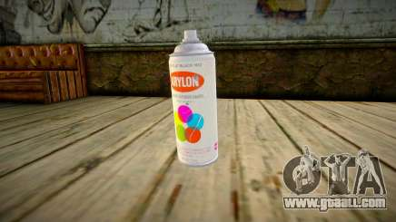 Quality Spray Can for GTA San Andreas