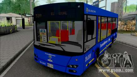 MAZ-206 Zonal Del SITP for GTA San Andreas