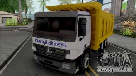 Mercedes-Benz Actros A.B.B. for GTA San Andreas