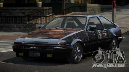Toyota Corolla AE86 Qz PJ2 for GTA 4