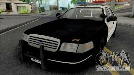 Ford Crown Victoria 1998 CVPI LACSD for GTA San Andreas