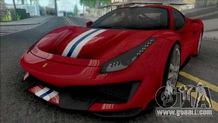 Ferrari 488 Pista 2019 [HQ] for GTA San Andreas