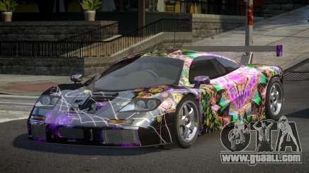 McLaren F1 GST-U PJ8 for GTA 4