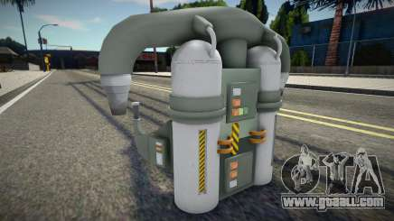 Quality Jetpack for GTA San Andreas