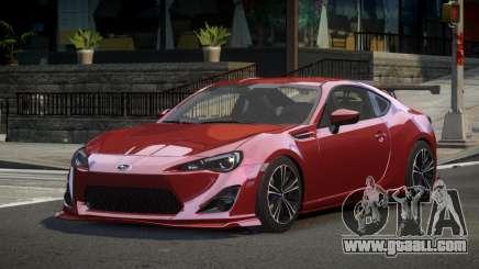 Subaru BRZ Qz for GTA 4
