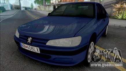 Peugeot 406 [HQ] for GTA San Andreas