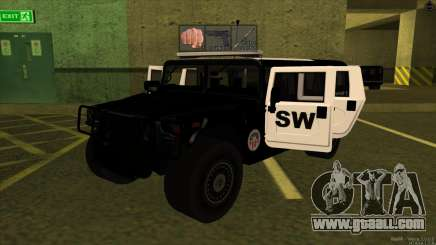 1992 Hummer H1 - LSPD SWAT for GTA San Andreas