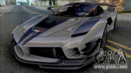 Ferrari FXX-K Evo (CSR 2) for GTA San Andreas