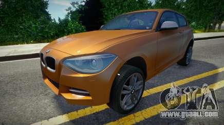 BMW M135i 2013 (good model) for GTA San Andreas