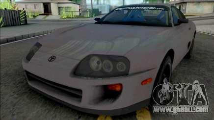 Toyota Supra 1998 SpeedHunters for GTA San Andreas