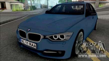 BMW 3-er F30 Sport Line 2013 for GTA San Andreas