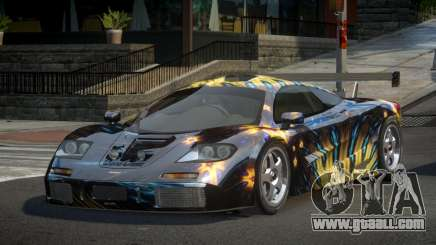 McLaren F1 GST-U PJ9 for GTA 4