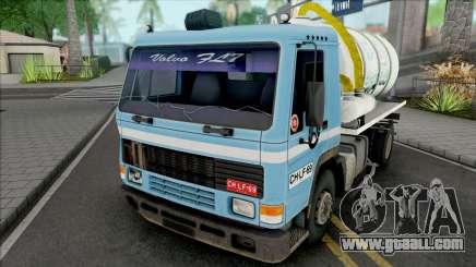Volvo FL7 Sewage Truck for GTA San Andreas