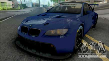 BMW M3 GT2 2009 for GTA San Andreas
