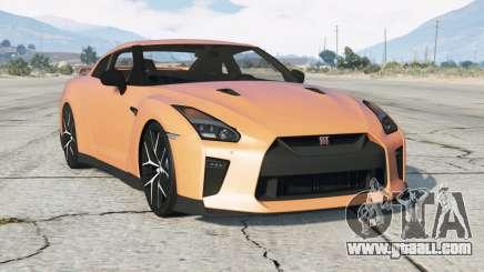 Nissan GT-R (R35) 2017〡add-oɳ for GTA 5