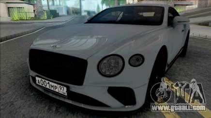 Bentley Continental GT 2021 for GTA San Andreas