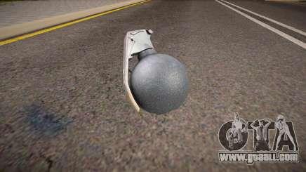 Remastered grenade for GTA San Andreas