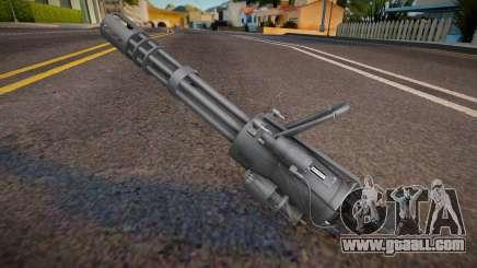 Remastered minigun for GTA San Andreas