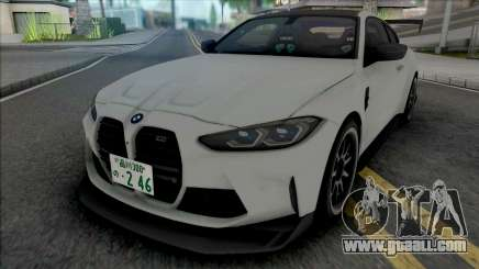 BMW M4 Competition 2021 Tuned for GTA San Andreas