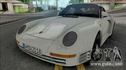 Porsche 959 1987 [HQ] for GTA San Andreas