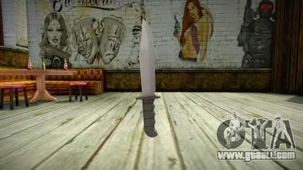 Quality Knife for GTA San Andreas