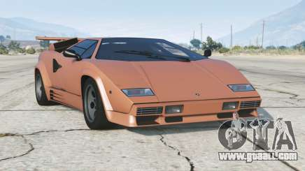 Lamborghini Countach LP5000 S Quattrovalvole 1985〡add-on v1.2 for GTA 5
