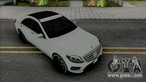 Mercedes-Benz S-Class AMG 2014 Lowpoly for GTA San Andreas